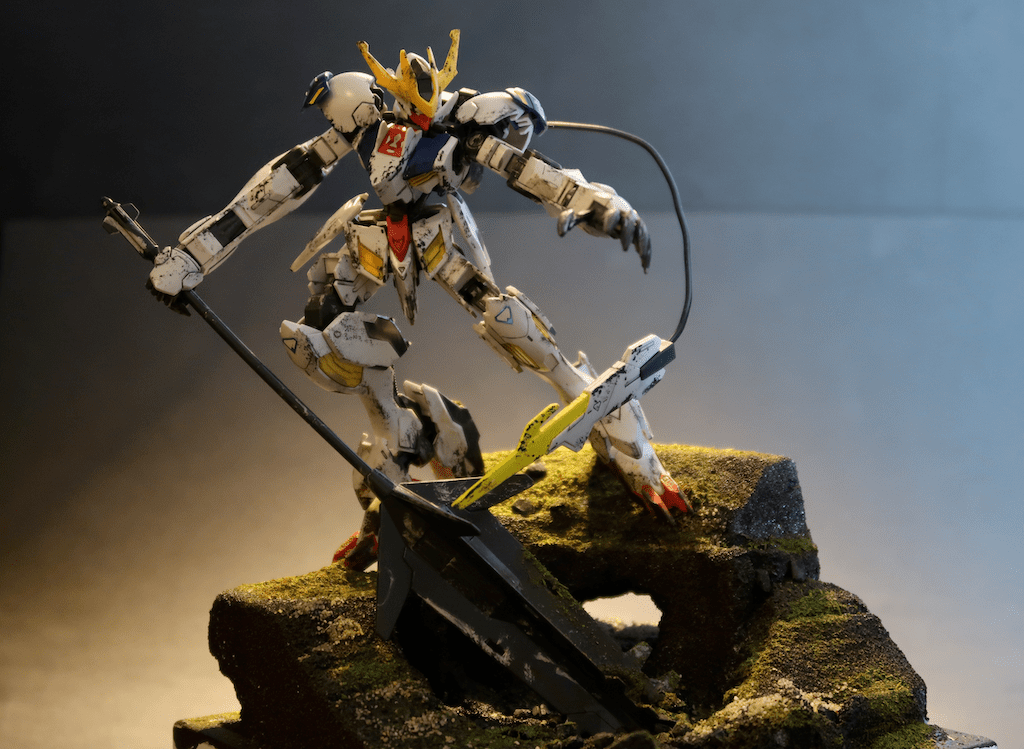 Barbatos Gunpla HG 1/144 Diorama
