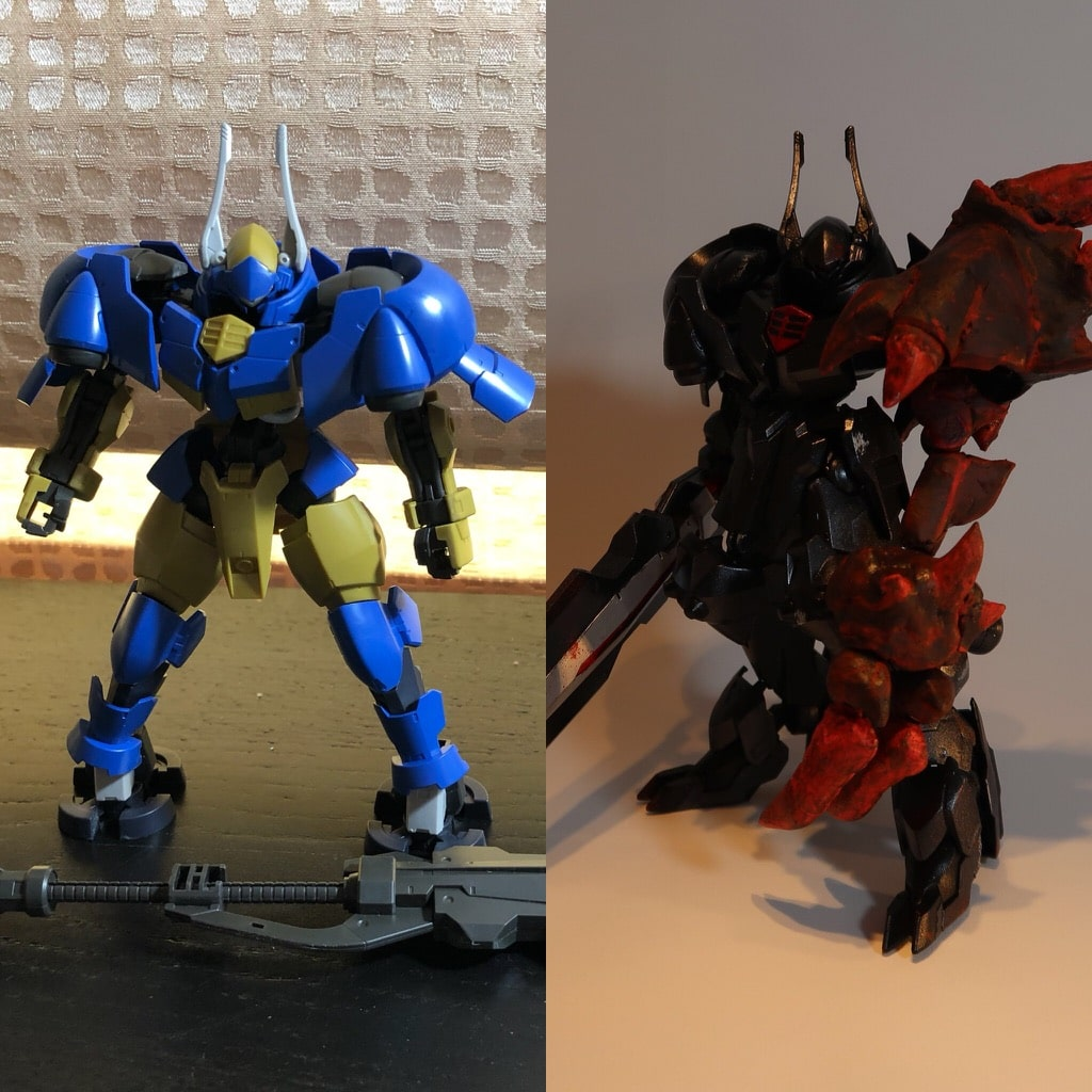 Helmwing Reincar Custom Before/After