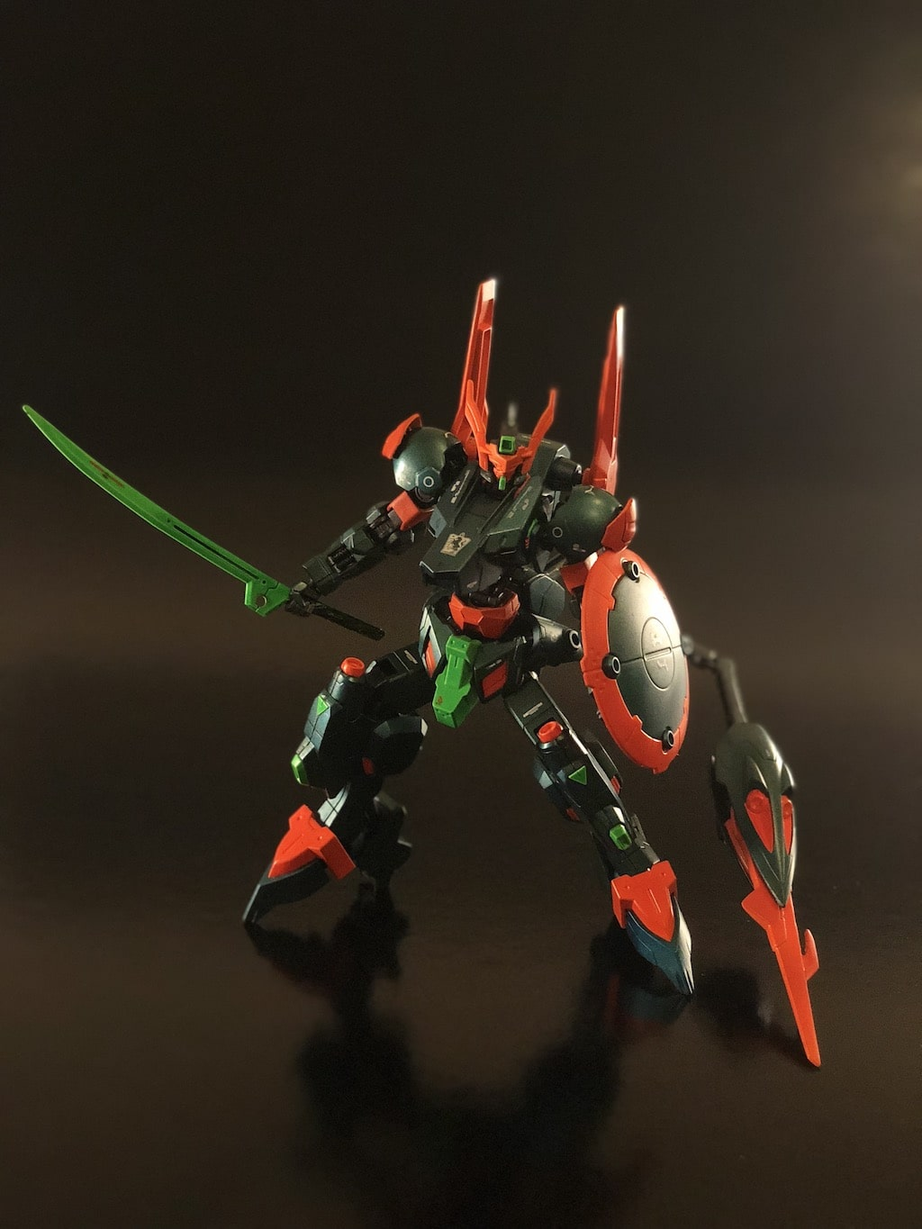 Chameleon Gunpla - Airbrushed