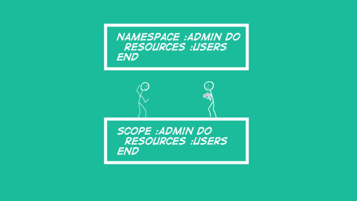 Rails 5 Routes: Scope vs Namespace - Devblast