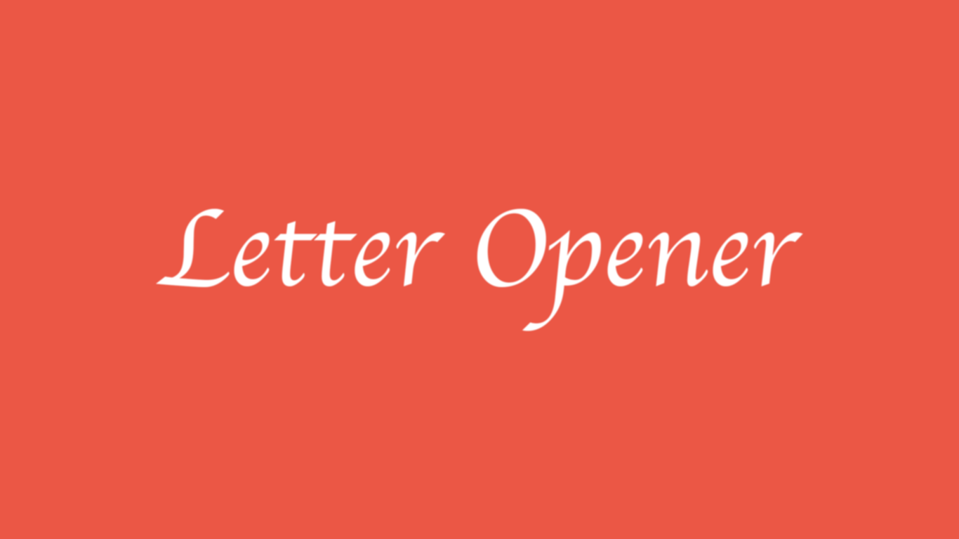 Send emails in development with Letter Opener - Devblast
